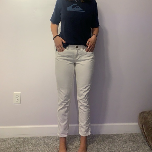 J Crew ankle toothpick jeans size 29 low rise
